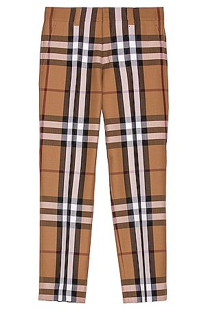 Burberry Dover Classic Check Trouser in ,Plaid