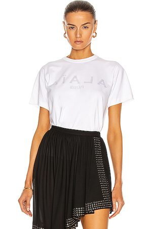 Alaïa Edition 2004 T Shirt with Flower Print in