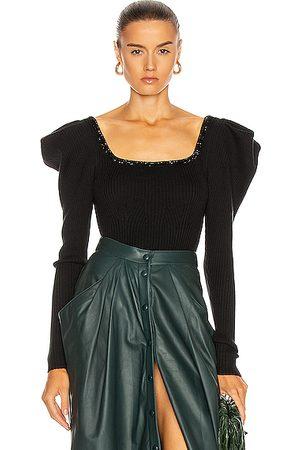 JOHANNA ORTIZ Chocolat Embellished Bodysuit in