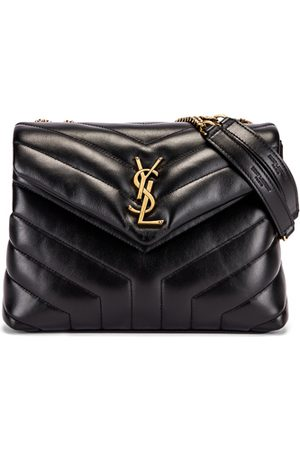 Saint Laurent Small Supple Monogramme Loulou Chain Bag in
