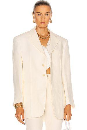Jacquemus La Veste D'Homme in White