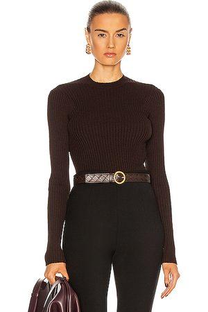Bottega Veneta Light Weight Cotton Viscose Sweater in