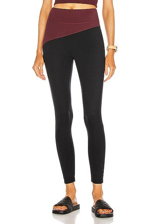 A.L.C. X Bandier Top Blocked Legging in ,Red