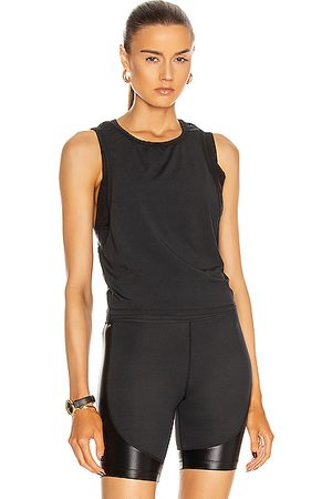 ALALA Mesh Tie Back Tank in
