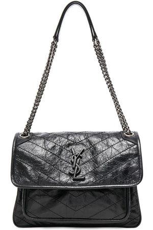 Saint Laurent Medium Niki Monogramme Chain Bag in