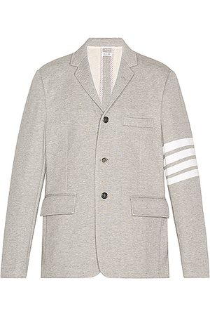 Thom Browne 4 Bar Unconstructed Suit Jacket in