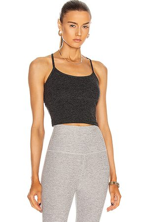 Beyond Yoga Spacedye Slim Racerback Cropped Tank in