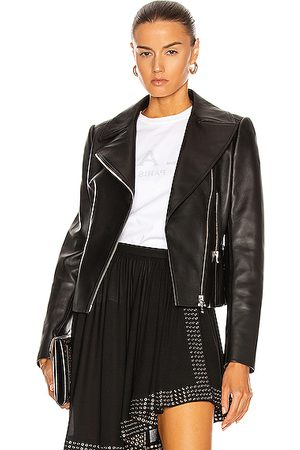 Alaïa Edition 2003 Leather Biker Jacket in