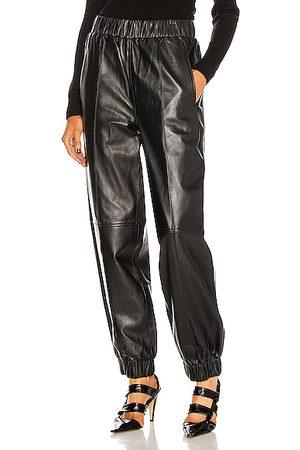 Ganni Lamb Leather Pant in