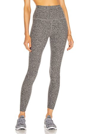 Beyond Yoga Spacedye Caught In The Midi High Waisted Legging in Gray
