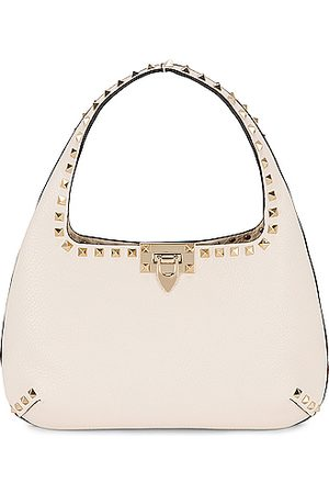 VALENTINO GARAVANI Small Leather Hobo Bag in