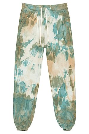 JOHN ELLIOTT Men Neckties - LA Sweatpants in Blue,Green,Ombre & Tie Dye