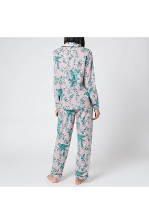 Desmond & Dempsey Women's Parrot Long Set
