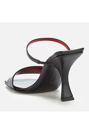 By Far Women's Nayla Leather Heeled Mules
