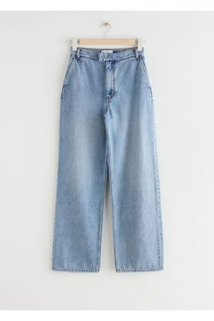 & OTHER STORIES Straight Relaxed High Waist Jeans