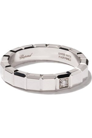 Chopard Rings - 18kt white gold Ice Cube diamond ring