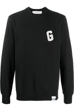 Golden Goose Embellished logo-patch sweatshirt