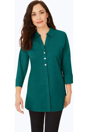 Foxcroft Pamela Stretch Non-Iron Tunic