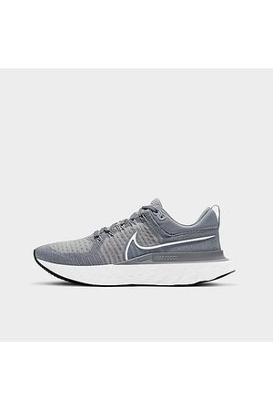 Nike Men's React Infinity Run Flyknit 2 Running Shoes in Grey/Particle Grey Size 6.5