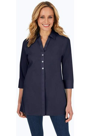 Foxcroft Women Tunics - Pamela Essential Stretch Non-Iron Tunic