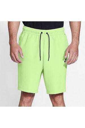 Nike Men's Sportswear Tech Fleece Shorts in /Light Liquid Lime Size 2X-Large Cotton/Polyester/Fleece