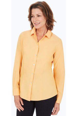 Foxcroft Women Shirts - Dianna Pinpoint Non-Iron Shirt