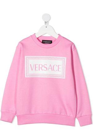VERSACE Girls Hoodies - 90s vintage logo sweatshirt
