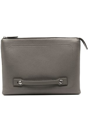 MULBERRY Leather City laptop case - Grey
