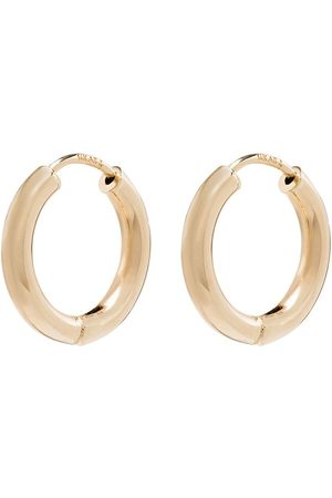 Adina Reyter 14kt yellow small hoop single earring
