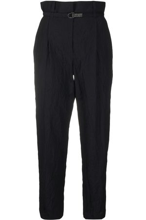 Brunello Cucinelli High-rise tapered trousers