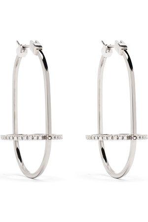 Delfina Delettrez Women Earrings - 18kt white gold diamond