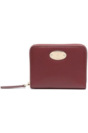 MULBERRY Logo-plaque zip purse