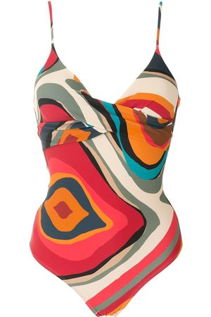 Lygia & Nanny Bianca printed swimsuit - Multicolour