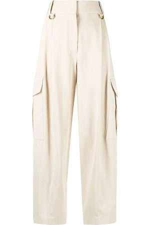 Givenchy Cargo-style straight-leg trousers - Neutrals