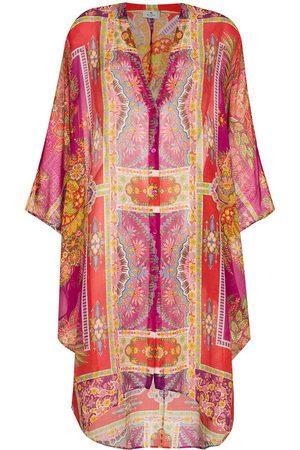 Etro Women Printed Dresses - Geometric print kaftan dress