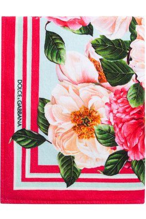 Dolce & Gabbana Floral-print cotton scarf