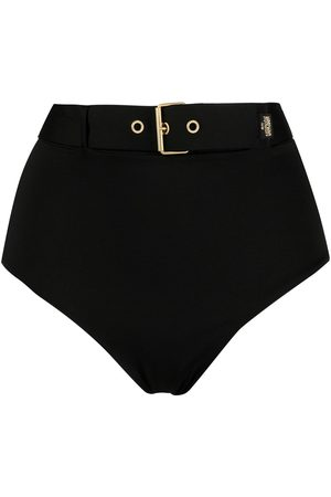 Moschino Buckle belt bikini bottoms