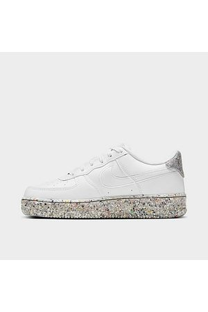 Nike Big Kids' Air Force 1 SE Casual Shoes in / Size 3.5 Leather/Polyester/Fiber