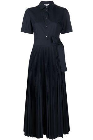 P.a.r.o.s.h. Pleated-skirt shirt dress