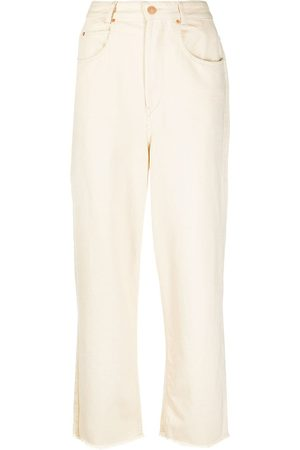 Isabel Marant High-waisted straight-leg jeans - Neutrals