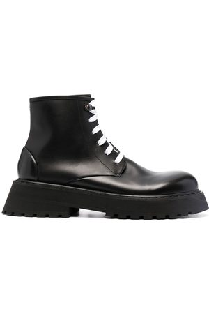 MARSÈLL Lace-up leather boots
