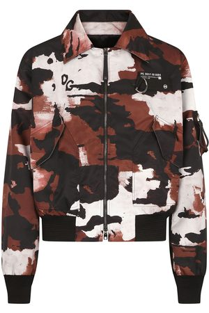 Dolce & Gabbana Camouflage-print jacket