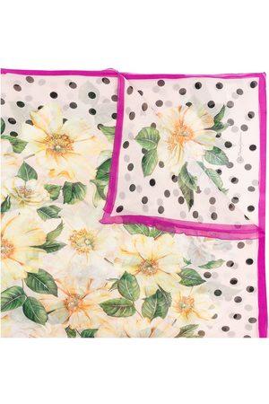 Dolce & Gabbana Women Scarves - Lightweight floral silk scarf
