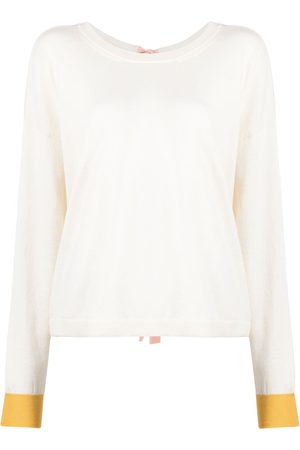 Marni Rear tie-detail knitted top
