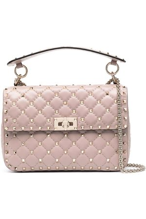 VALENTINO GARAVANI Rockstud shoulder bag - Neutrals