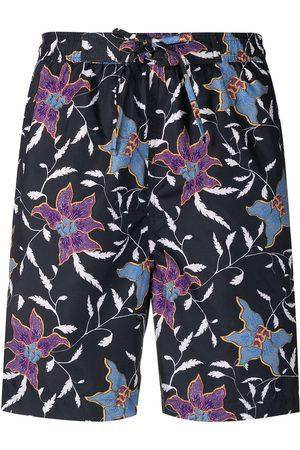 Isabel Marant Floral print swim shorts