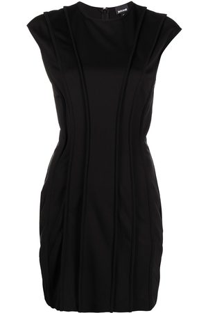 Roberto Cavalli Panelled mini dress