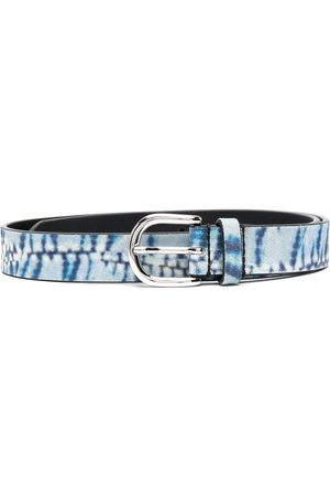 Isabel Marant Abstract-print leather belt