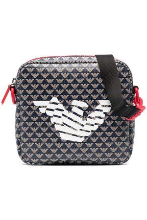 Emporio Armani Logo-print shoulder bag