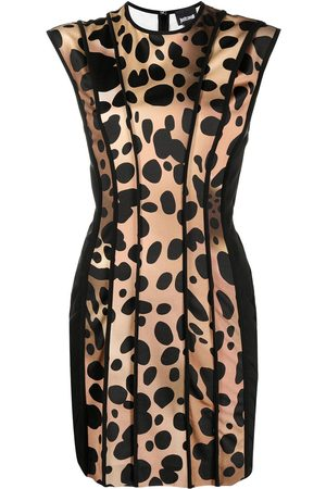 Roberto Cavalli Leopard-print mini dress